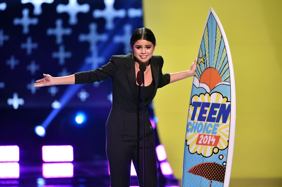 Teen-Choice-Awards-Selena-Gomez-140810-1-getty-AFP - Bildquelle: getty-AFP
