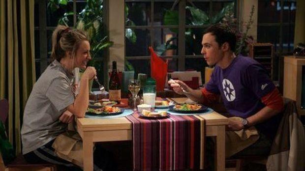 Sheldon und Penny