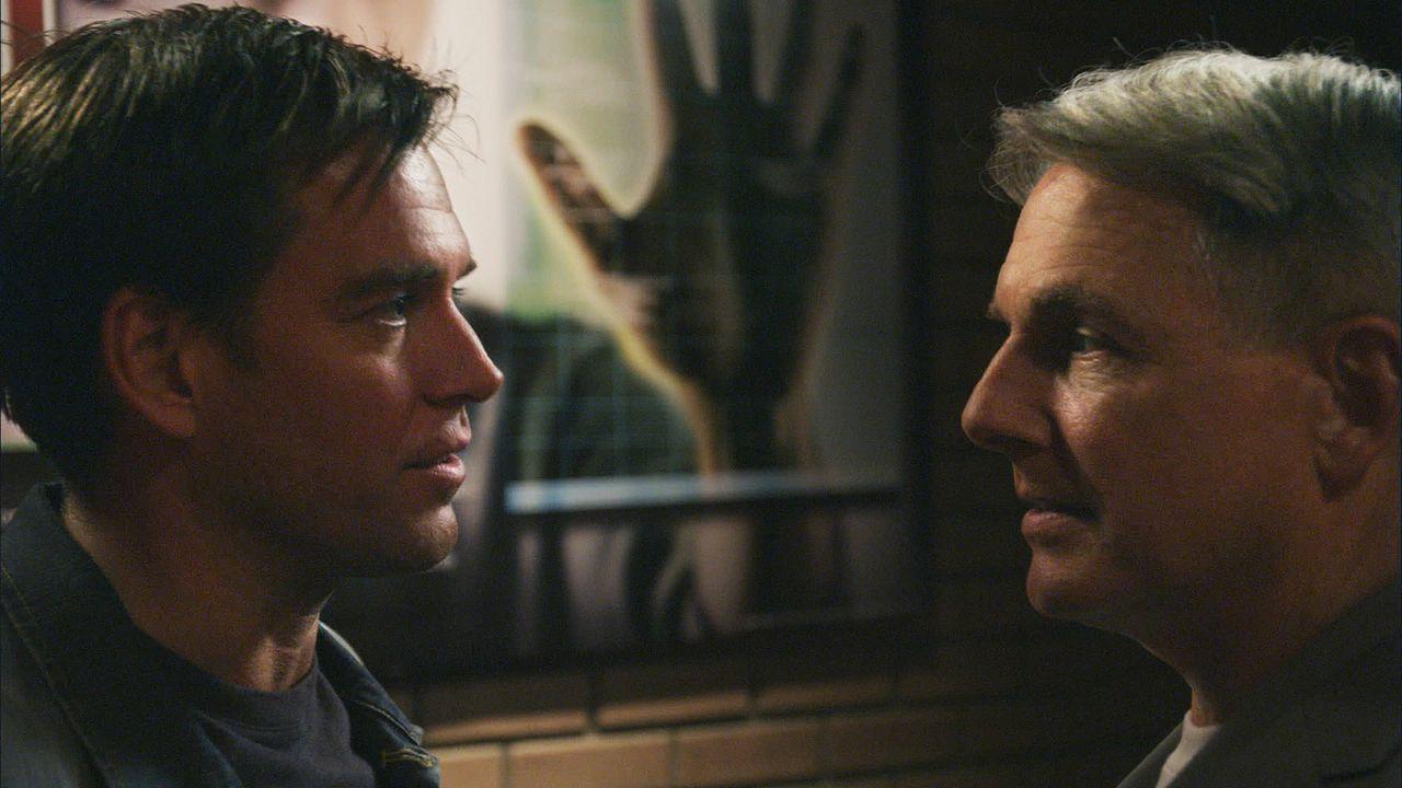 Versuchen Ziva aus den Fängen eines Terroristen zu befreien: Tony (Michael Weatherly, l.) und Gibbs (Mark Harmon, r.) ... - Bildquelle: CBS Television