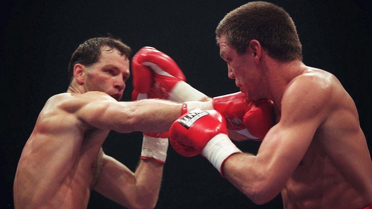 Rocchigiani vs. Henry Maske II, 14. Oktober 1995, München - Bildquelle: Getty Images