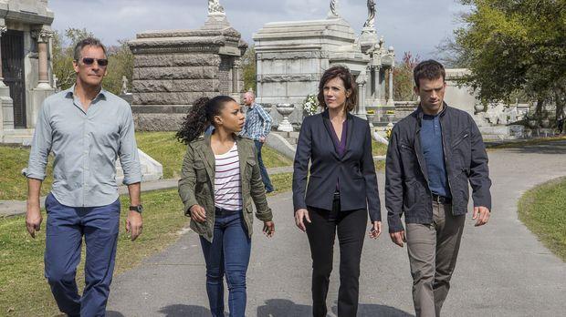 Ein neuer Fall hält Pride (Scott Bakula, l.), Percy (Shalita Grant, 2.v.l.),...