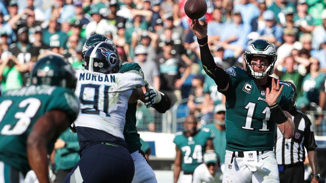 Verlierer: Philadelphia Eagles - Bildquelle: 2018 Getty Images