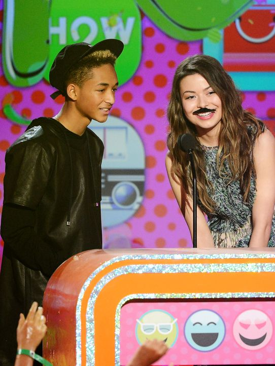 kids-choice-awards-2013-Jaden-Smith-Miranda-Cosgrove-130323-getty-AFP - Bildquelle: getty-AFP