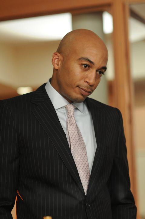 Es gibt einen neuen Vorgesetzten, der den Posten von Hector übernommen hat: Griffin (James Lesure). Der neue Mann scheint ordentlich Druck zu machen... - Bildquelle: NBC, Inc.