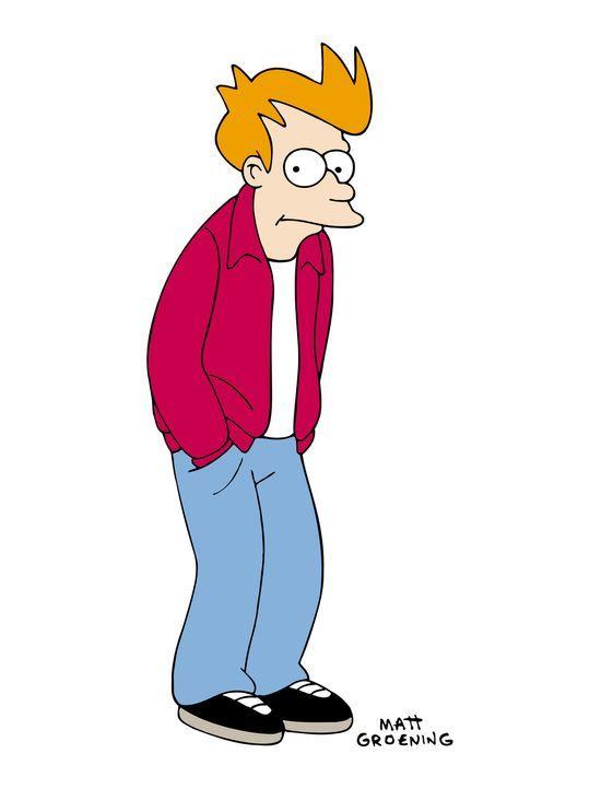 (1. Staffel) - Was für eine Karriere hat Fry gemacht: vom Pizzajungen zum intergalaktischen Boten. - Bildquelle: und TM Twenthieth Century Fox Film Corporation - Alle Rechte vorbehalten