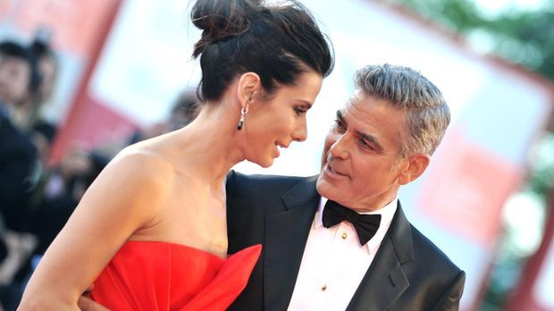 Filmfestival Venedig: Sandra Bullock und George Clooney