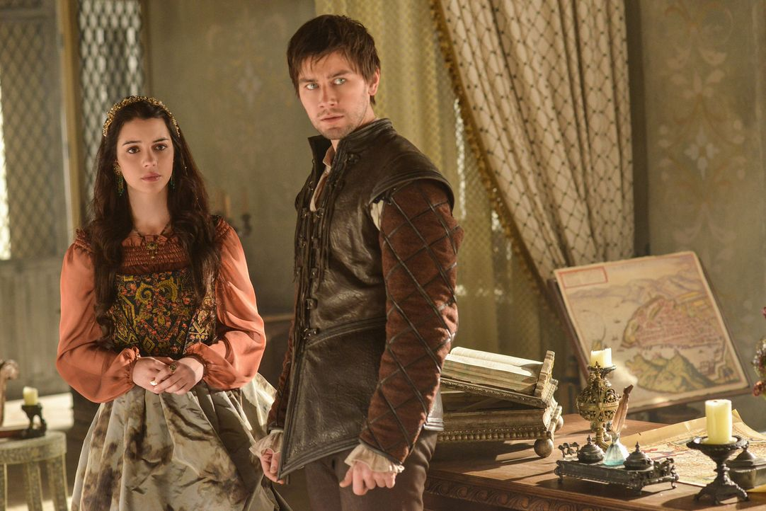 Mary Stuart und Bash - Bildquelle: Sven Frenzel 2013 The CW Network, LLC. All rights reserved.
