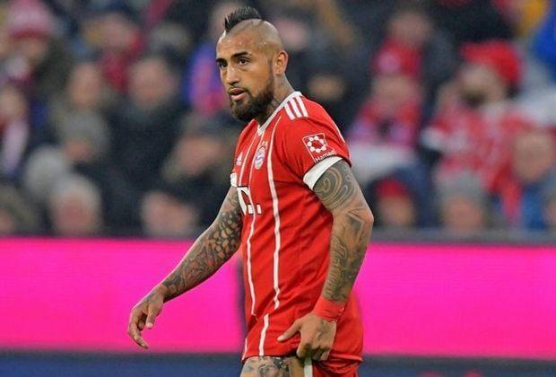 Arturo Vidal wurde am Montag am rechten Knie operiert