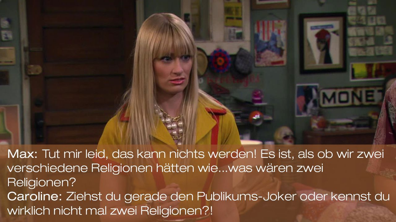 2-Broke-Girls---0316--Zitat-06 - Bildquelle: Warner Brothers