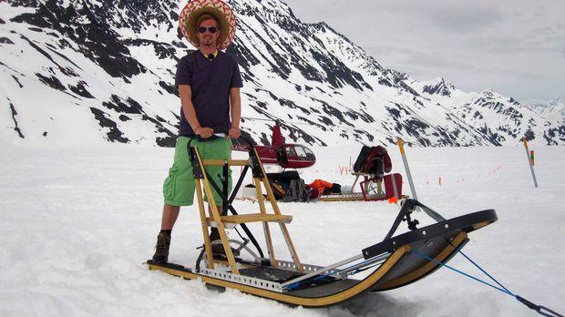 Winter-Wonderland in Shorts und mit Sombrero: Was Joko da wohl verwechselt ha...