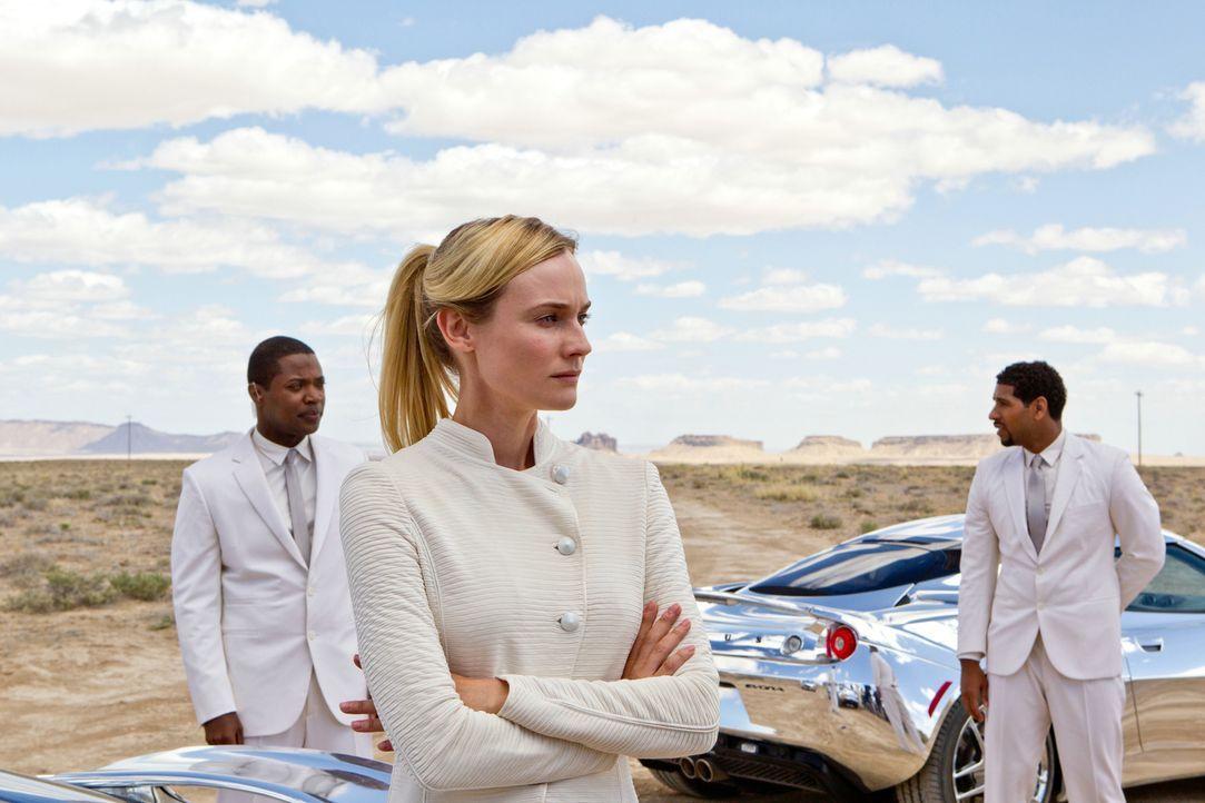 Immer auf der Suche nach den letzten Menschen: Die Sucherin (Diane Kruger) ... - Bildquelle: 2013 Concorde Filmverleih GmbH