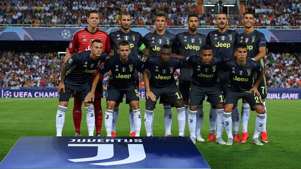 Platz 7: Juventus Turin - Bildquelle: 2018 Getty Images