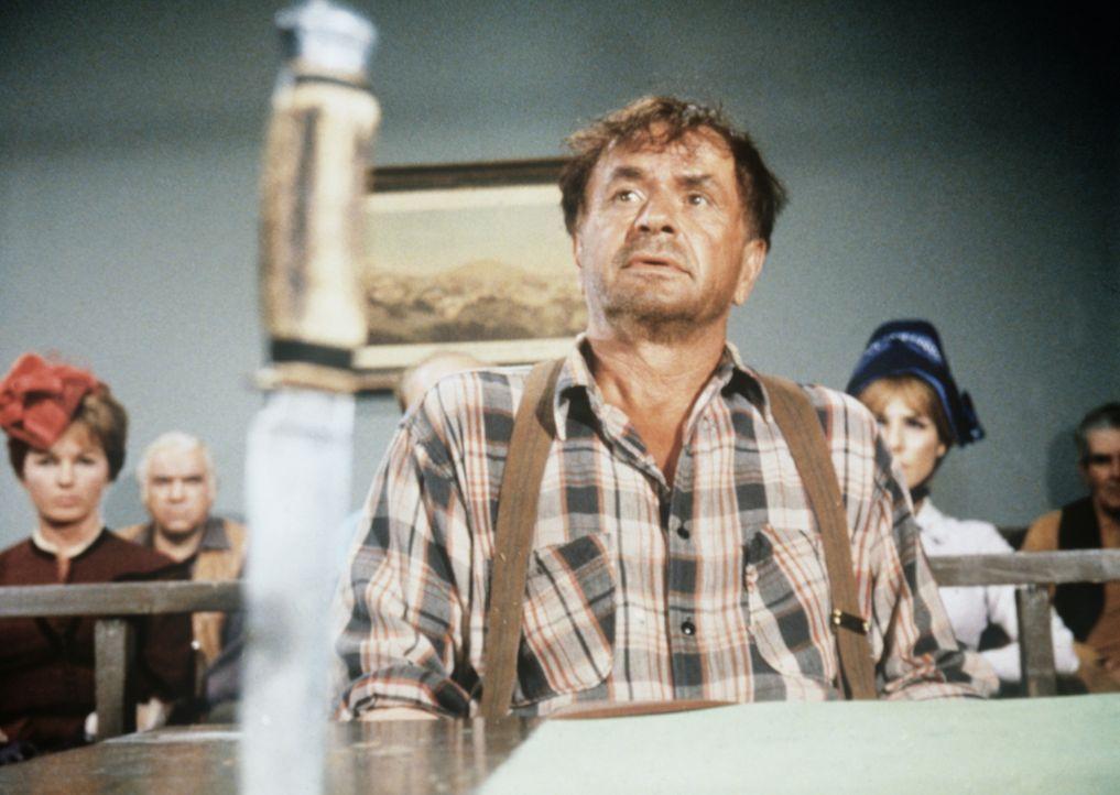 Der geistig zurückgebliebene Gelegenheitsarbeiter Johnny Mule (Noah Beery Jr.) steht unter Mordverdacht. - Bildquelle: Paramount Pictures
