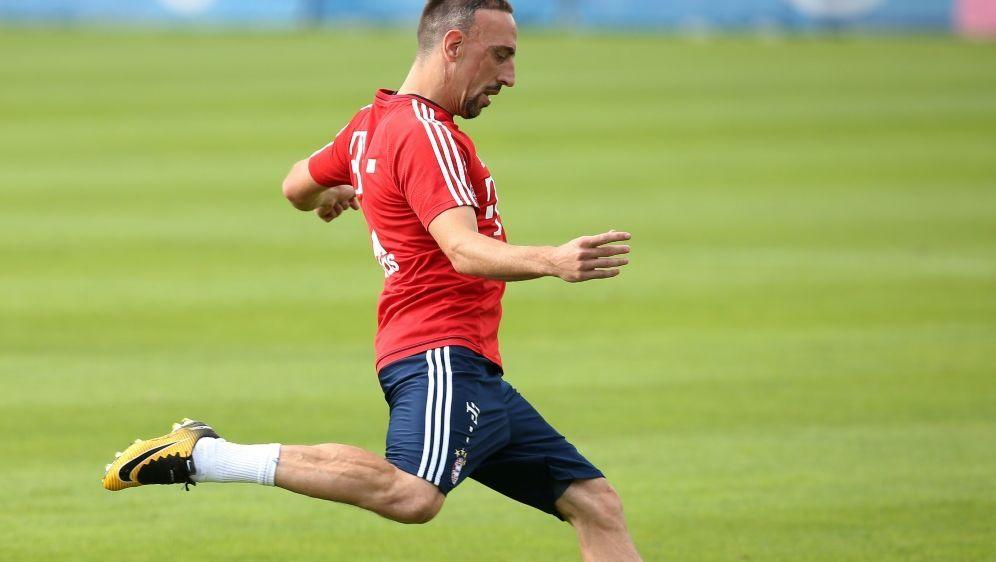 Franck Ribery steht kurz vor seinem Comeback - Bildquelle: FIROFIROSID
