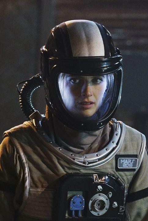 Weil die Crew ihre Basis nicht verlassen hat und es kein Eindringen von Außen in die Simulation gab, ist Kate (Stana Katic) ratlos, wer der Mörder s... - Bildquelle: Richard Cartwright ABC Studios