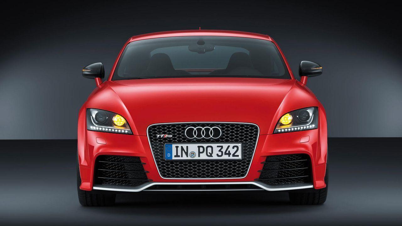 Audi TT RS plus - Bildquelle: Audi