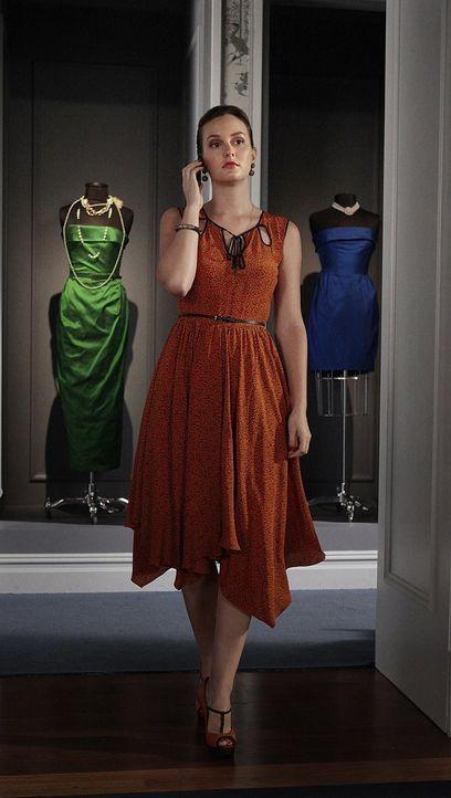 Eleanor gibt Blair (Leighton Meester) ein Ultimatum, was dazu führt, dass Blair mehr denn je versucht die Probleme von Waldorf Designs zu lösen ... - Bildquelle: Warner Brothers