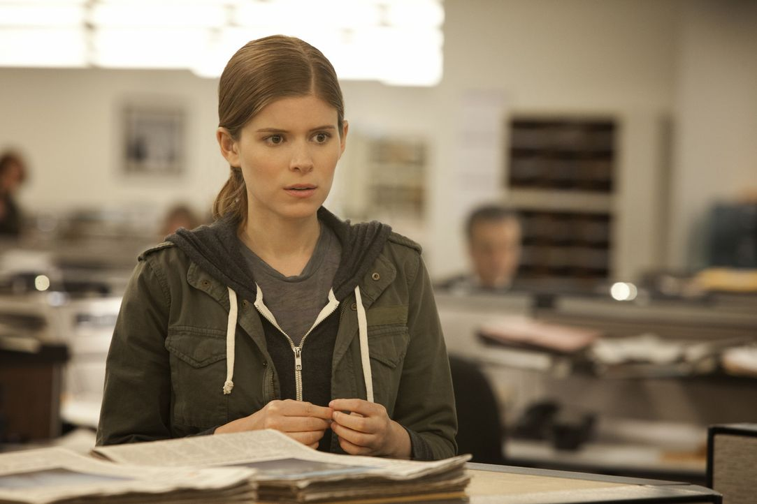 Bei Underwoods heimtückischer Intrige gegen die Regierung, erweist sich die junge Journalistin Zoe Barnes (Kate Mara) als außerordentlich hilfreic... - Bildquelle: 2013 MRC II Distribution Company L.P. All Rights Reserved.