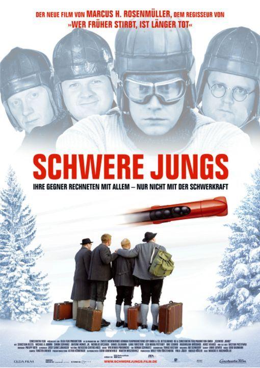 SCHWERE JUNGS - Plakatmotiv - Bildquelle: Constantin Film Verleih GmbH
