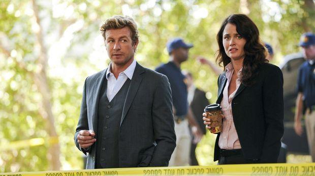 Müssen in einem neuen Fall tätig werden: Patrick (Simon Baker, l.) und Teresa...