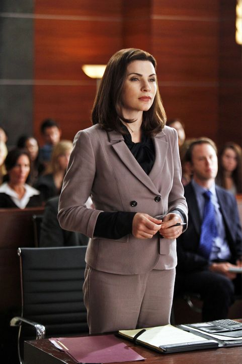 Der Fall nimmt eine unerwartete Wendung: Alicia Florrick (Julianna Margulies) - Bildquelle: 2010 CBS Broadcasting Inc. All Rights Reserved.