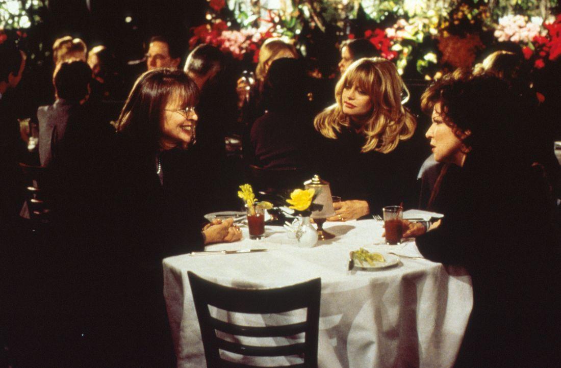 Als sich eine Freundin wegen ihres treulosen Ehemannes das Leben nimmt, schwören Brenda (Bette Midler, M.), Elise (Goldie Hawn, r.) und Annie (Diane... - Bildquelle: Paramount Pictures