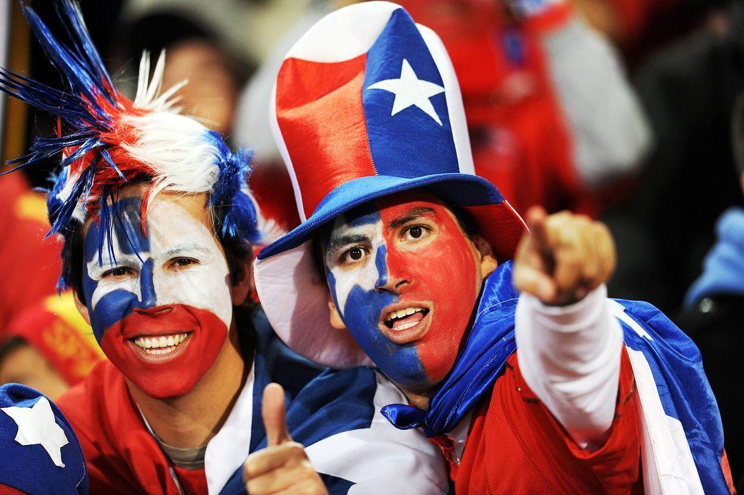 Fussball-Fans-Chile-100625-dpa - Bildquelle: dpa