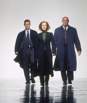 Akte X - (8. Staffel) - FBI-Agentin Dana Scully (Gillian Anderson, M.), FBI-A...