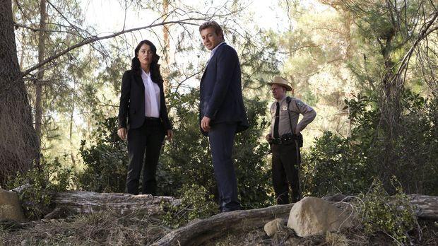 Ermitteln in einem neuen Fall: Teresa Lisbon (Robin Tunney, l.), Sheriff Thom...