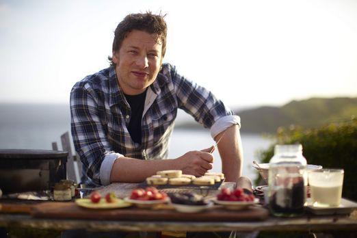 Zu Gast bei Jamie Oliver - Zu Gast bei Jamie Oliver - Bildquelle: Oliver S. P...