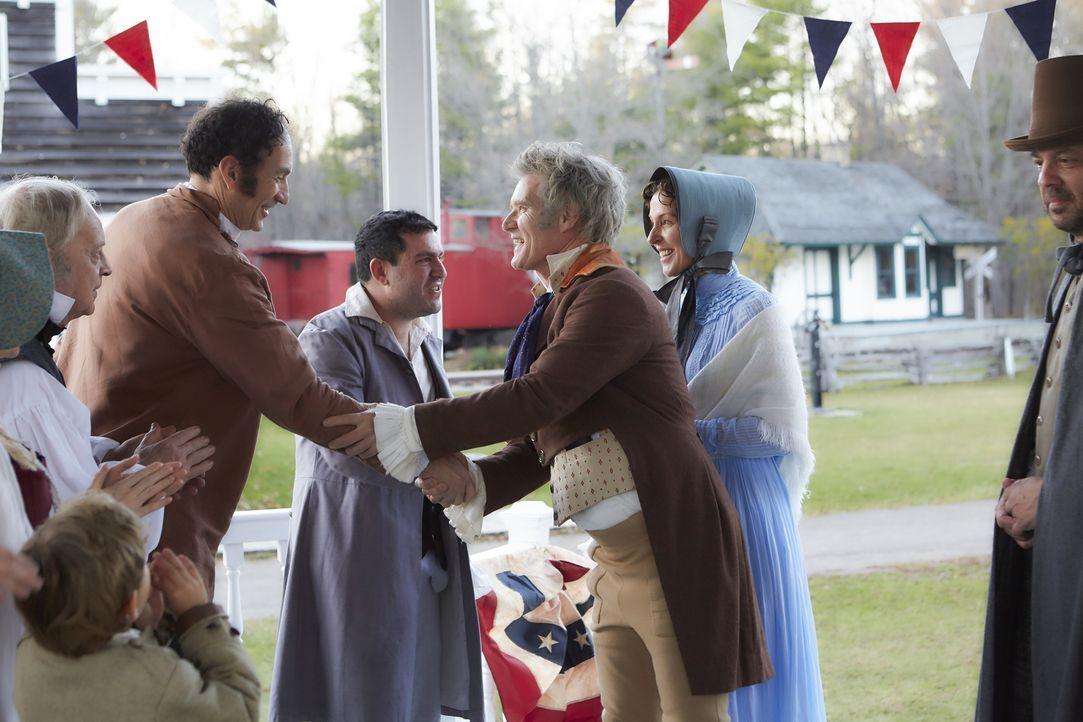 Die Präsidentschaftswahl in den Vereinigten Staaten 1828 war bestimmt durch das erneute Aufeinandertreffen des amtierenden Präsidenten John Quincy A... - Bildquelle: 2015 Cable News Network, Inc. A TimeWarner Company. All rights reserved