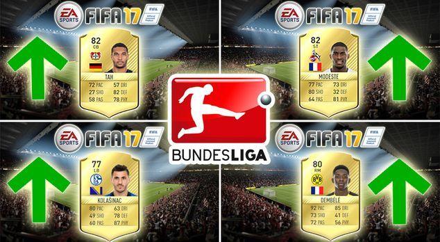 Winter-Upgrade für die Bundesliga in FIFA 17 - Bildquelle: EA Sports