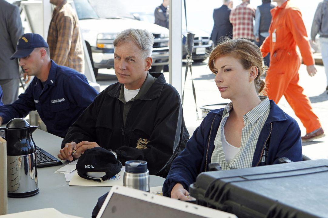 Als eine Ölbohrinsel explodiert, arbeitet die Ermittlungseinheit der Küstenwache unter der Leitung von Abigail Borin (Diane Neal, r.) mit Gibbs (Mar... - Bildquelle: CBS Television
