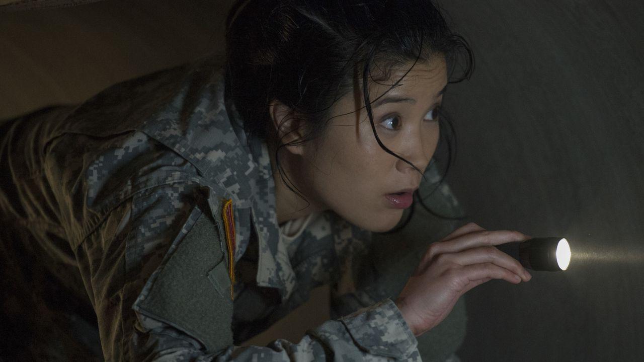 Muss all ihr Können und Wissen einbringen, um zu beweisen, das Fort Knox nicht so eine unbezwingbare Festung ist, wie die Regierung glaubt: Happy (J... - Bildquelle: Neil Jacobs 2016 CBS Broadcasting, Inc. All Rights Reserved.
