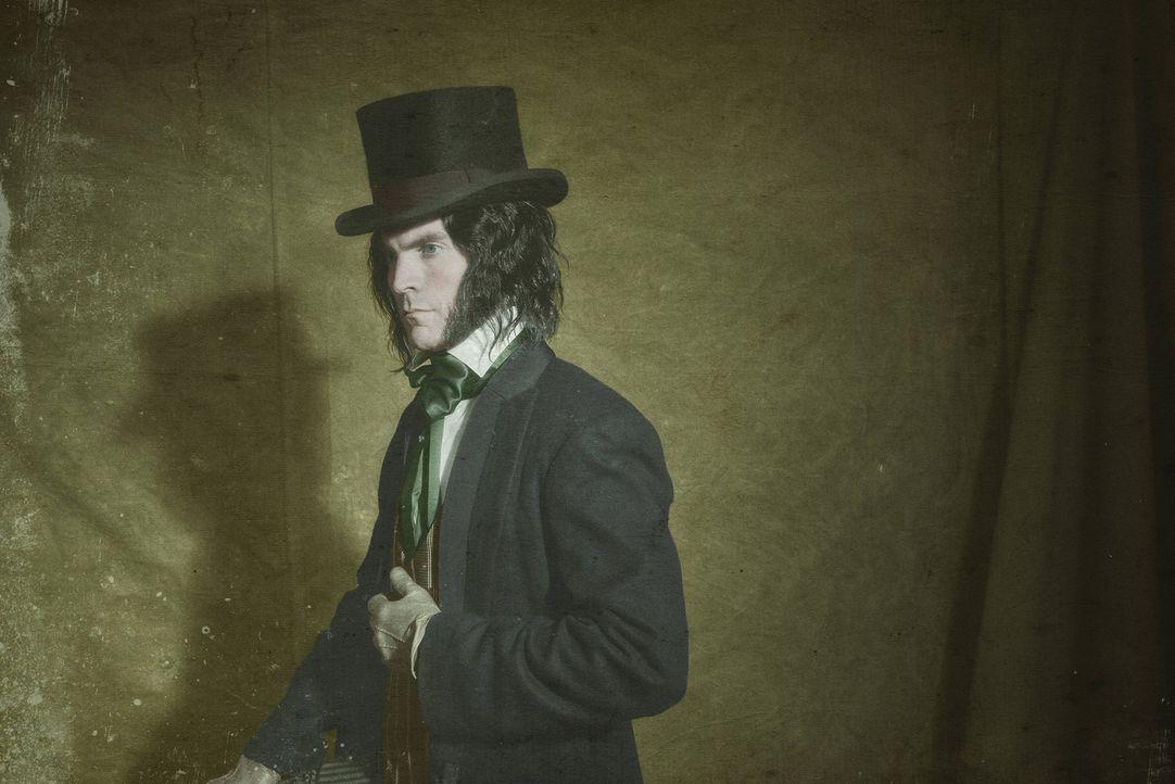 (4. Staffel) - Edward Mordrake (Wes Bentley) war früher ein privilegierter englischer Edelmann. Doch die ständige Anwesenheit eines zweiten Gesichte... - Bildquelle: Michael Becker 2014, FX Network. All rights reserved.