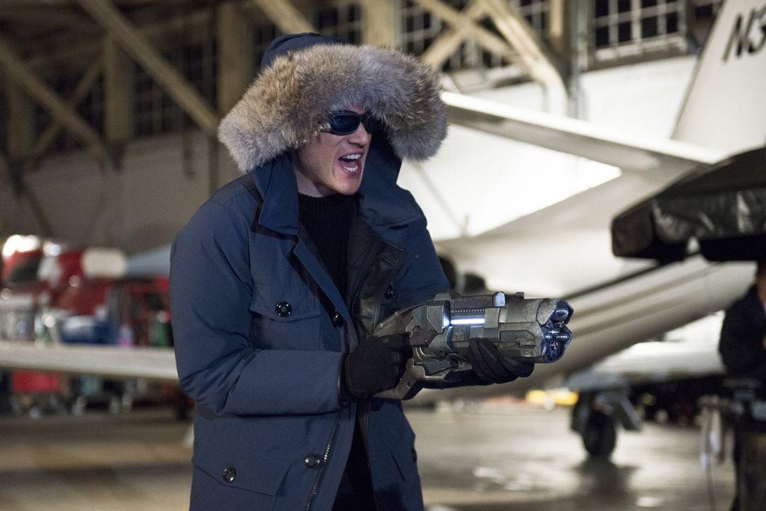 Leonard Snart alias Captain Cold (Wentworth Miller) kommt mit einem tödlichen Plan zurück nach Central City ... - Bildquelle: Warner Brothers.