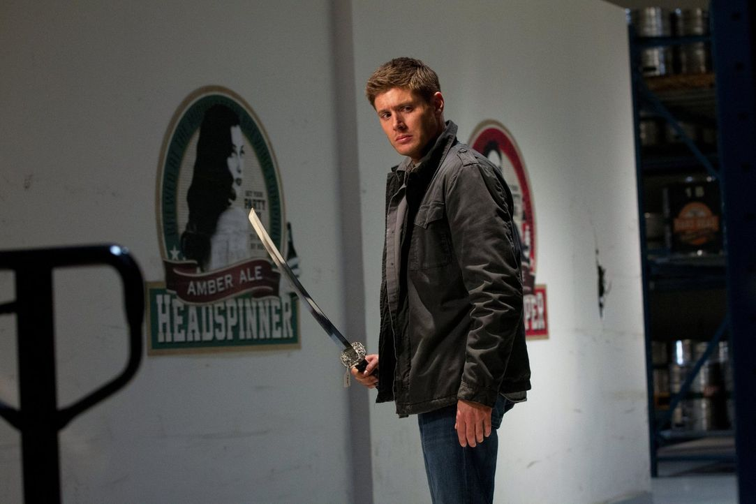 Sam und Dean (Jensen Ackles) werden von Garth zu einem besonderen Fall gerufen ... - Bildquelle: Warner Bros. Television