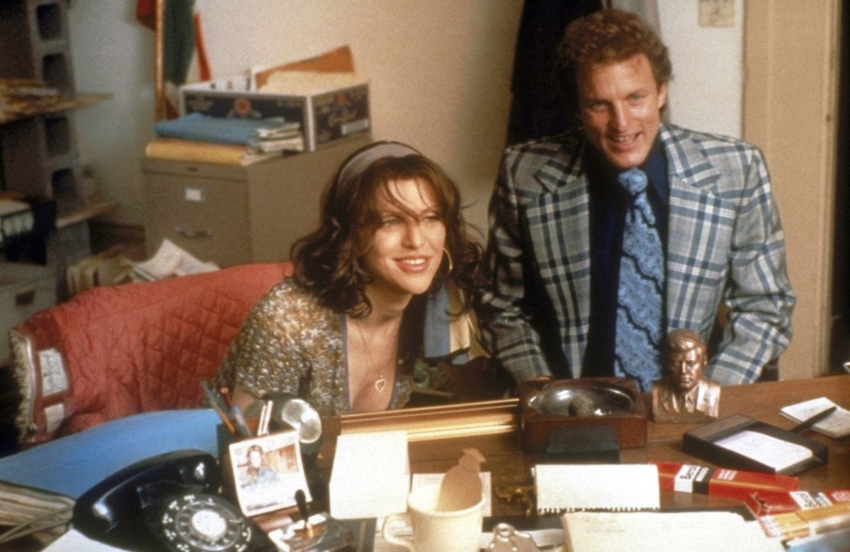 Das Leben von Larry Flynt (Woody Harrelson, r.) und seiner Frau Althea (Courtney Love, l.) scheint endlich in geregelten Bahnen zu laufen ... - Bildquelle: Columbia Pictures
