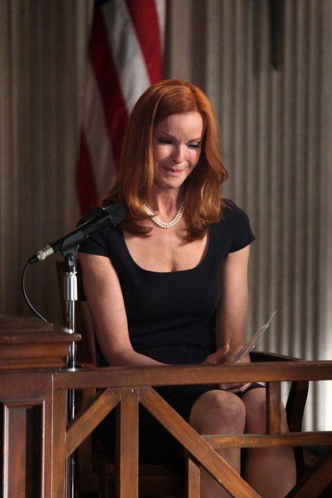 Während Tom kurz vor seiner Versetzung nach Indien steht, beginnt für Bree (Marcia Croos) eine schwere Zeit ... - Bildquelle: ABC Studios