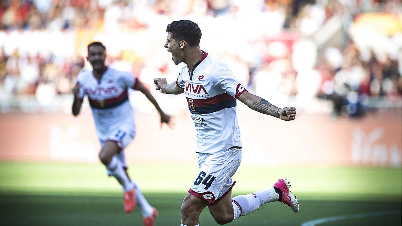 Pietro Pellegrini, damals FC Genua - Bildquelle: imago/HochZwei/Syndication