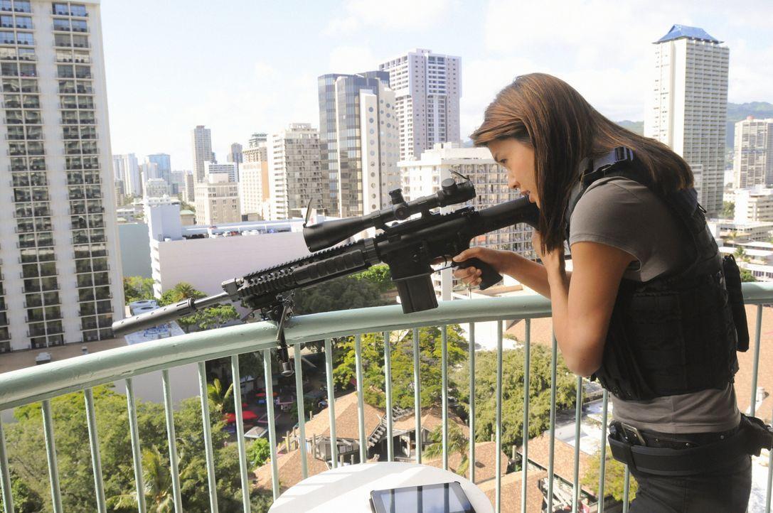 Im Kampf gegen das organisierte Verbrechen im Paradies: Kono (Grace Park) ... - Bildquelle: TM &   CBS Studios Inc. All Rights Reserved.