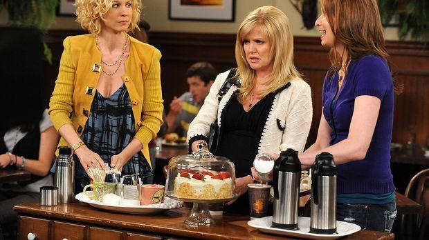Gemeinsam wollen Billie (Jenna Elfman, l.), Olivia (Ashley Jensen, M.) und Ab...