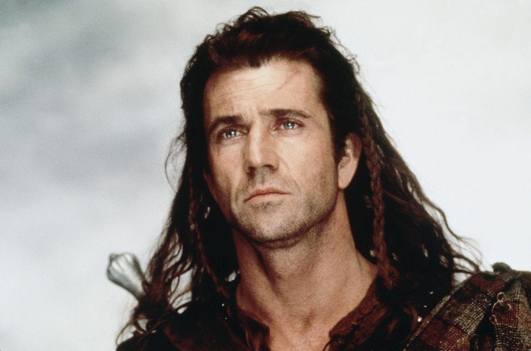 """Der Mutigste eines stolzen Volkes: """"Braveheart"""" William Wallace (Mel Gibson) ... - Bildquelle: Paramount Pictures"""