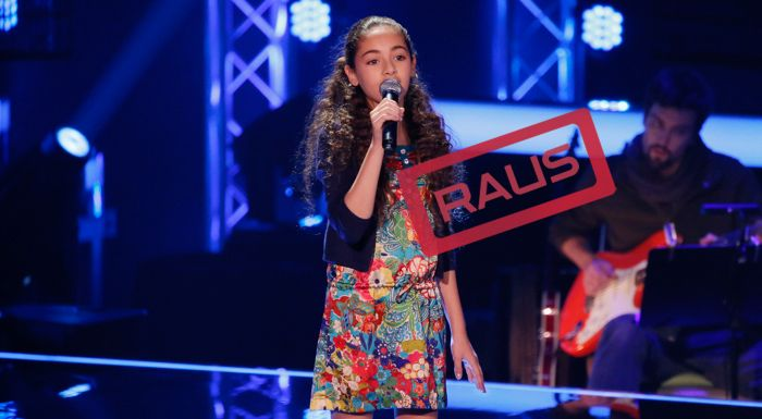The-Voice-Kids-Stf04-RAUS-Hala-SAT1-Richard-Huebner - Bildquelle: © SAT.1/ Richard Hübner