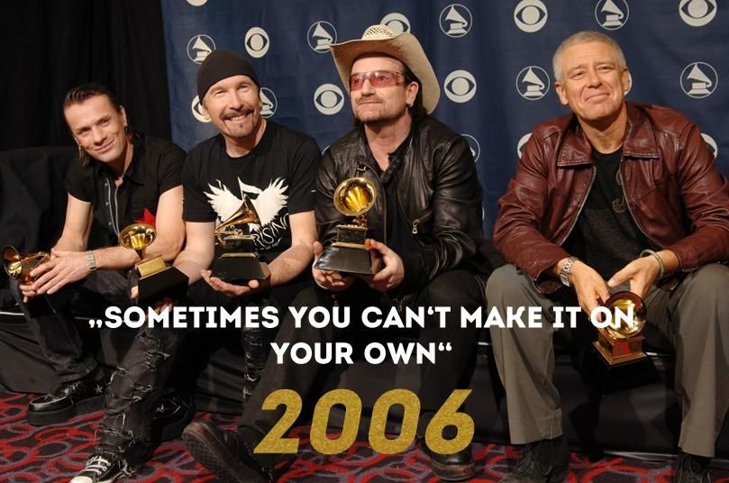 Grammy 2006: Sometimes you can't make it on your own - Bildquelle: AFP
