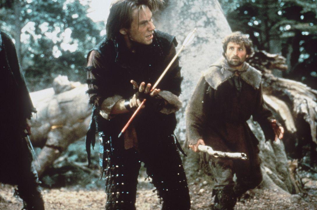 Der verschlagene Will Scarlet (Christian Slater, M.) entwickelt gleich vom ersten Augenblick an eine tiefe Abneigung gegen seinen Halbbruder Robin H... - Bildquelle: WARNER BROS.