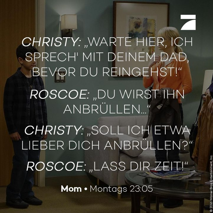 Christy und Roscoe - Staffel 4 Episode 6 - Bildquelle: 2016 Warner Bros. Entertainment, Inc.