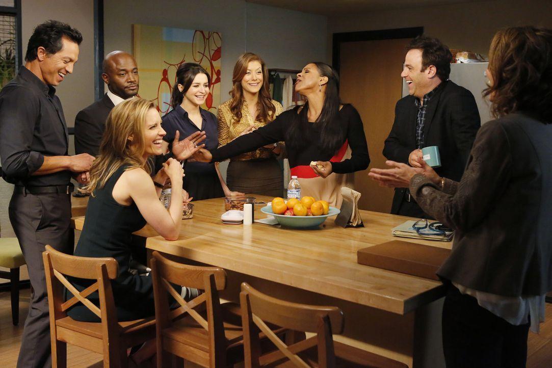 Veränderungen stehen an: (v.l.n.r.) Jake (Benjamin Bratt), Sam (Taye Diggs), Charlotte (KaDee Strickland), Amelia (Caterina Scorsone), Addison (Kat... - Bildquelle: ABC Studios