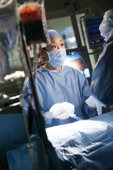 Versucht einen Patienten zu retten: Cristina (Sandra Oh) ... - Bildquelle: Touchstone Television