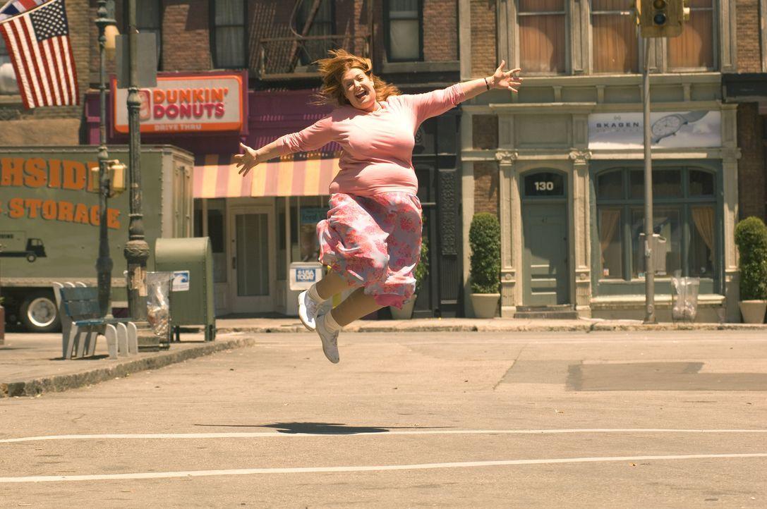 Auch wenn ihr Traummann Napoleon Dynamite eine Abfuhr erteilt hat, Julia (Alyson Hannigan) ist glücklich ... - Bildquelle: Epsilon Motion Pictures